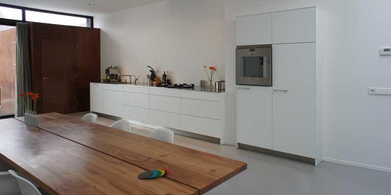 Afmeting Schiereiland Keuken : bulthaup b3 rvs blad met pitt cooking